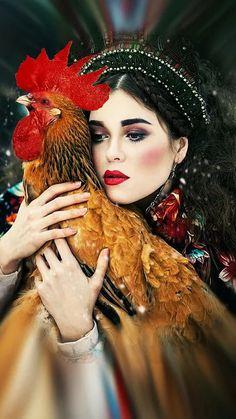 Fashion photograph in Russian style by Margarita Kareva. Fantasy Photography, Amazing Photography, Portrait Photography, Fashion Photography, Foto Fantasy, Fantasy Art, Margarita, Portrait Art, Portraits