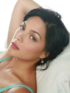 K.C. Concepcion -filipina model and actress. One of the most purebred beautiful Filipinas I have ever seen who wasn't half white.