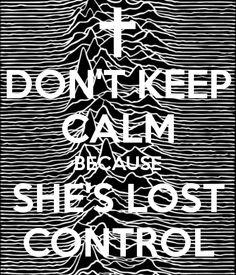 She's lost control; Joy Division