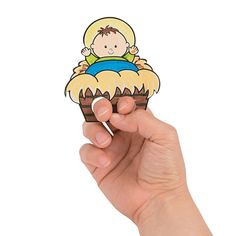 Color Your Own Nativity Finger Puppets - OrientalTrading.com