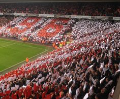 Here at Anfield, You'll Never Walk Alone...Liverpool, England