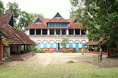 The Alummootil Meda. A grand manor and outhouses belonging to Ezhava aristocracy from history. Location: Mavelikara.