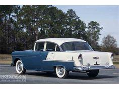 1955 Chevrolet Bel Air in Fernandina Beach, Florida 1955 Chevrolet, Chevrolet Bel Air, 1955 Chevy Bel Air, Fernandina Beach Florida, 1950s Car, France, Us Cars, Limousine, Old Trucks