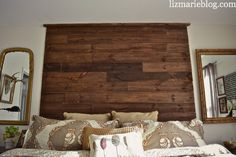 » DIY Palette Headboard