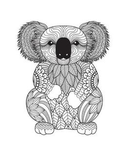 Amazing Animals For Adults Who Color