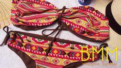 vestido de baño etnico by BMM