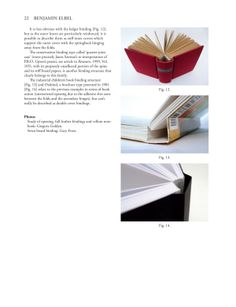 Article for The New Bookbinder by Benjamin Elbel, via Behance