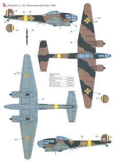 Luftwaffe, Cutaway, Airplanes, Romania, Ww2, Air Force, Fighter Jets, Medieval, Aircraft
