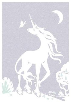 This is a lithograph! It is a poster with the entire text of The Last Unicorn on it! If you enter the code FORTUNA you will get $10 dollars off today only!!!!