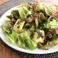 万能ダレの豆腐サラダ 作り方・レシピ   料理・レシピ動画サービスのクラシル