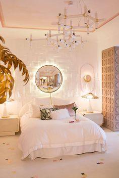 Girl Bedroom Designs, Room Ideas Bedroom, Bedroom Styles, Gold Bedroom Decor, Diy Bedroom, Dream Rooms, Dream Bedroom, Warm Bedroom, Casa Decor 2017
