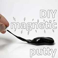 credit: Mike Warren [http://www.instructables.com/id/magnetic-silly-putty/]