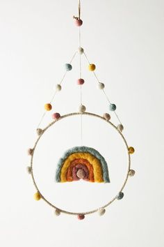 Rainbow Mini Mobile | Anthropologie
