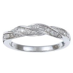 @Overstock - Round-cut white diamond braided ring10-karat white gold jewelryClick here for ring sizing guidehttp://www.overstock.com/Jewelry-Watches/10k-White-Gold-2-5ct-TDW-Diamond-Ring/5306323/product.html?CID=214117 $264.99