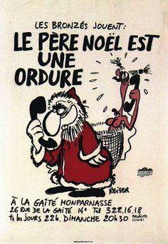 """""""Le père Noël est une ordure"""" par Reiser Animation, Chant, Comic Books, Memes, Funny, Image, Netflix, Drawing, Awesome"""