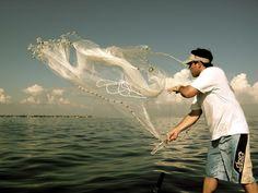 Netting in Lake Tanganyika