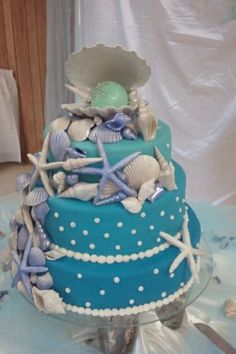 beach themed sweet 16 cakes Beach Cake for a Sweet 16 Celebration