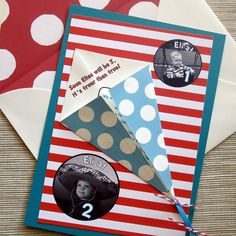 Cat in the Hat Birthday Party Invites with Kite Theme  by rbgcolor, $25.00