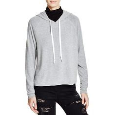 Project Social T Hooded Sweatshirt - 100% Bloomingdale's Exclusive ($56) ❤ liked on Polyvore featuring tops, hoodies, heather grey, hoodie top, heather grey hoodie, project social t, hooded pullover and sweatshirt hoodies
