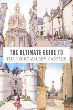 The ultimate guide to the Loire Valley, France castles. All the best castles in France that you need to see on your Europe trip Cool Places To Visit, Places To Travel, Travel Destinations, European Destination, European Travel, Paris Travel, France Travel, Loire Valley France, Europe Travel Guide