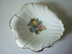 Vintage Handpainted China Dresser Vanity Dish by IcicleGarden, $8.00