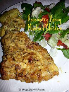 Rosemary Honey Mustard Chicken