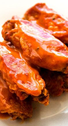 Hot and Spicy Baked Buffalo Chicken Wings