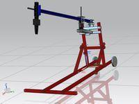 Portable Spring Assist Log Splitter Plans