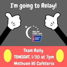 Relay For Life, Rally, Cancer