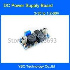 DC Power Supply Board 3-35V to 1.2-30V Auto DC Boost Buck Converter Solar Sale Only For US $26.99 on the link Plugs, Solar, Link, Corks
