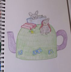 My next project is a French Bulldog Bath Time Tea Cosy http://www.teacosyfolk.co.uk/blog.php Dogs look so cute in the bath :)