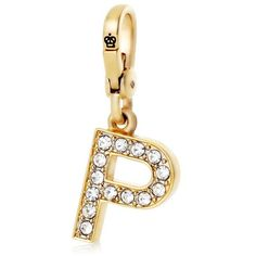 Juicy Couture P Initial Charm