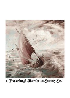 Fine Art Cards. Seascapes by Nibz Traditional by CraftyJoes, £2.80