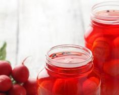 Recette de Pickles de radis Nutrition, Healthy, Food, Vinegar, Cilantro, Green Beans, Fruits And Veggies, Essen, Eten