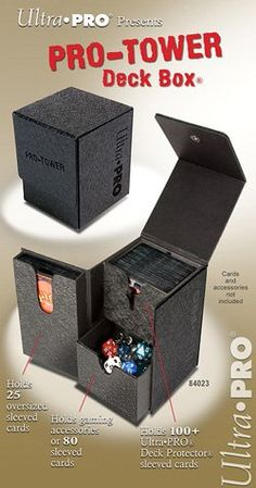 13% Off was $19.99, now is $17.46! Pro Tower Deck Box, Black