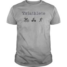 Triathlete T-Shirts, Hoodies. ADD TO CART ==► https://www.sunfrog.com/Sports/Triathlete-Sports-Grey-Guys.html?id=41382