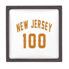 #New Jersey 100 Birthday Designs Jewelry Box - #birthday #gift #present #giftidea #idea #gifts