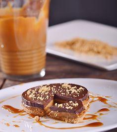 Τάρτα με καραμελωμένο γάλα και σοκολάτα | Γιάννης Λουκάκος