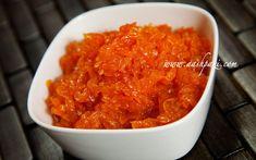 Carrot Jam (Moraba e Havij) Recipe