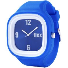 @flexwatches Blue Classic Interchangeable Sports Watch: This sports watch features a blue interchangeable face and blue silicone band that allow complete customization. Remove the interchangeable face and pair it with another Flex Watch band to create your unique style. www.flexwatches.com
