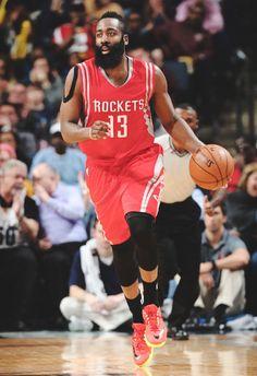 1 week left in the NBA season...James harden should be MVP.