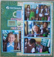 Member Gallery of Scrapbooking Layouts and Projects - Two Peas in a Bucket