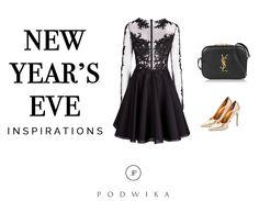New Year's Eve Inspirations by PODWIKA #fashion #podwika #podwikadress #newyear #inspirations #party #newyearseve #happynewyear