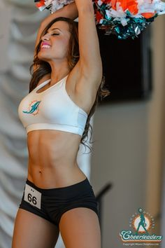 Chantal on the Sidelines   Miami Dolphins Cheerleaders