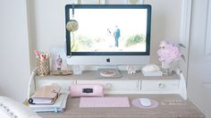 Updated Desk Tour � Shabby Chic!
