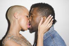 Kanye West & Amber Rose by Terry Richardson, 2010