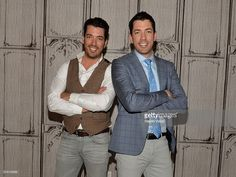 The Property Brothers, Jonathan Scott and Drew Scott visit AOL Build to discuss their book 'Dream Home: The Property Brothers Ultimate Guide to Finding & Fixing Your Perfect House' at AOL on April 4, 2016 in New York City.