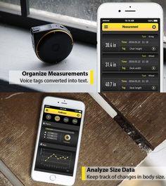 スマホアプリでデータの管理や活用(出典:Kickstarter)
