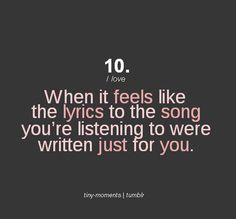This is my goal as a songwriter!