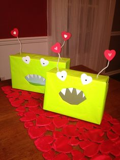 Valentine's Card Box